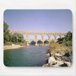 View of the aqueduct, built c.19 BC Mouse Pad