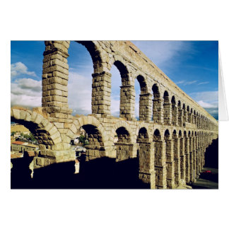 View of the aqueduct greeting card