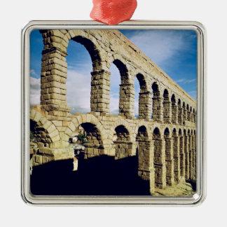 View of the aqueduct metal ornament