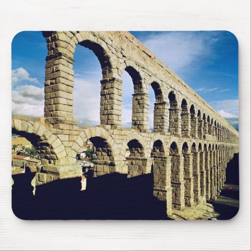 View of the aqueduct mouse pads