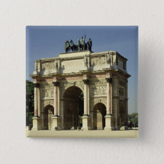 View of the Arc de Triomphe du Carrousel Button