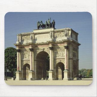 View of the Arc de Triomphe du Carrousel Mouse Pad