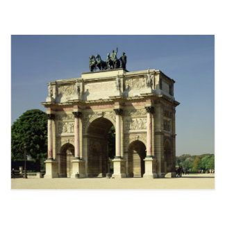 View of the Arc de Triomphe du Carrousel Postcard