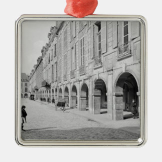 View of the arcade of Place des Vosges Christmas Tree Ornament