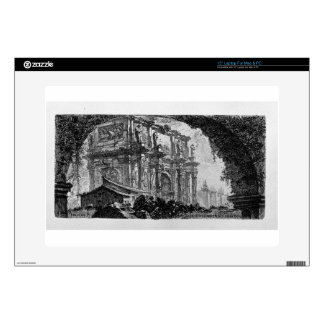 View of the Arch of Augustus d`Aosta Decals For Laptops