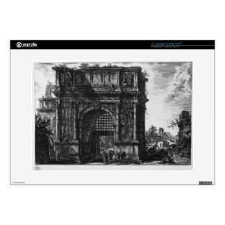 View of the Arch of Benevento in the Kingdom... Laptop Skins