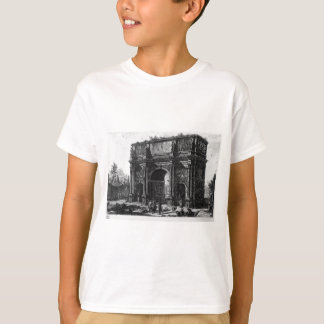 View of the Arch of Constantine by Giovanni Battis T-Shirt