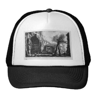 View of the Arch of Titus by Giovanni Battista Trucker Hat