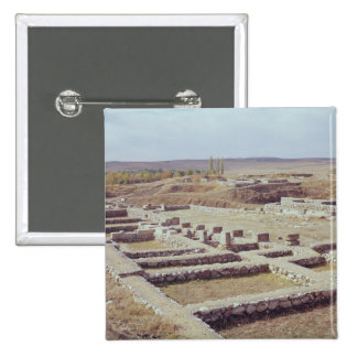 View of the archaeological site, 1450-1200 BC Pinback Button