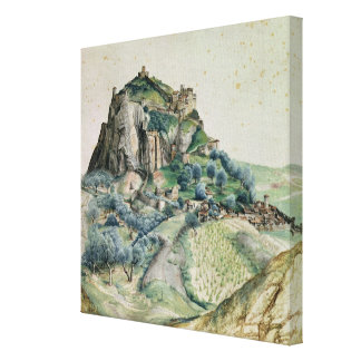 View of the Arco Valley in the Tyrol, 1495 Canvas Print