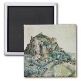 View of the Arco Valley in the Tyrol, 1495 Fridge Magnet