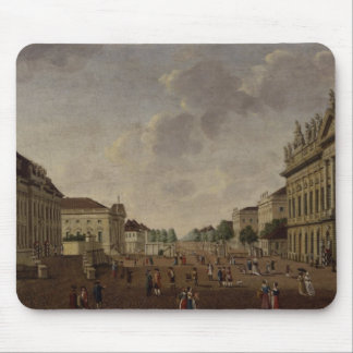 View of the armory and Unter den Linden Street Mouse Pad