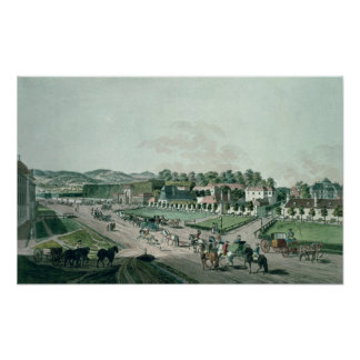 View of the Augarten Palace and Park, Vienna Poster