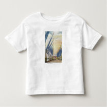 View of the Avenue of Flags, 1934 World's Fair Toddler T-shirt