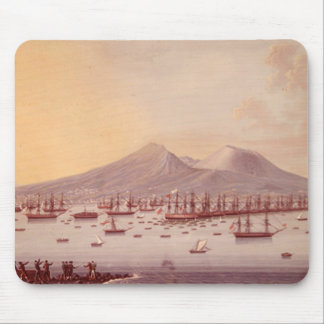 View of the Bay of Naples, 1798 Mouse Pad