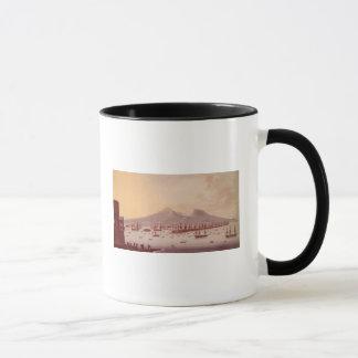 View of the Bay of Naples, 1798 Mug