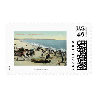View of the Beach and Clay Head Postage
