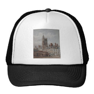 View of the belfry of Orleans by Theodore Rousseau Trucker Hat