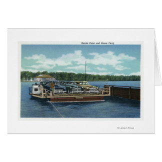 View of the Bemus Point and Stow Ferry Card