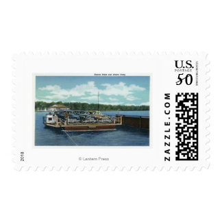 View of the Bemus Point and Stow Ferry Postage
