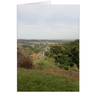 View of the Black Country from Kinver Edge Greeting Card