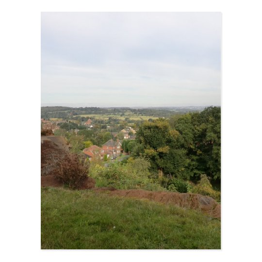 View of the Black Country from Kinver Edge Postcard