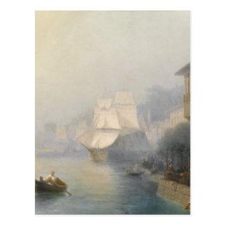 View of the Bosporus by Ivan Aivazovsky Postcard