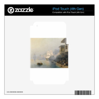 View of the Bosporus by Ivan Aivazovsky Skin For iPod Touch 4G
