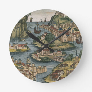 View of the Bosporus entering from the Black Sea, Wall Clocks