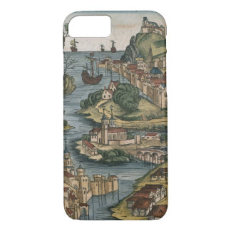 View of the Bosporus entering from the Black Sea, iPhone 8/7 Case
