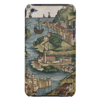 View of the Bosporus entering from the Black Sea, iPod Case-Mate Case