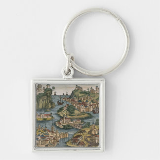 View of the Bosporus entering from the Black Sea, Keychain