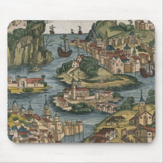 View of the Bosporus entering from the Black Sea, Mouse Pad