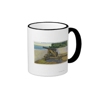 View of the Boulangerie, French Military Coffee Mugs