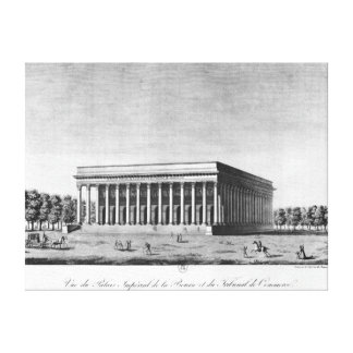 View of the Bourse Imperial Palace Gallery Wrapped Canvas