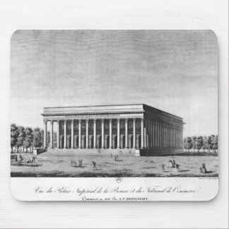 View of the Bourse Imperial Palace Mouse Pad
