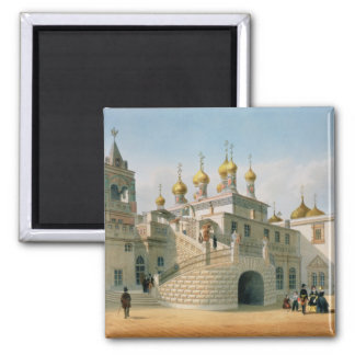 View of the Boyar Palace in the Moscow Kremlin Magnets