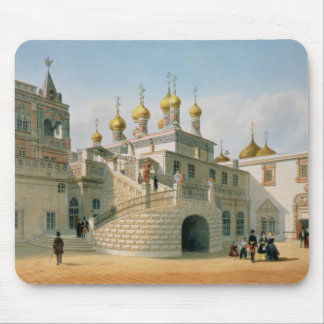 View of the Boyar Palace in the Moscow Kremlin Mouse Pad
