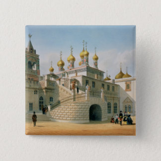 View of the Boyar Palace in the Moscow Kremlin Pinback Button