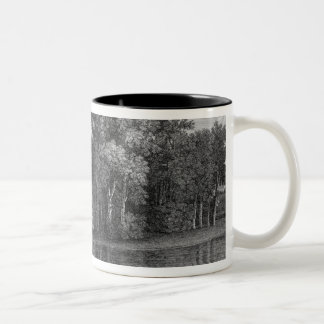 View of the Bridge and the Temple of Venus in the Coffee Mug