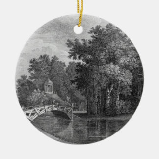 View of the Bridge and the Temple of Venus in the Christmas Tree Ornament