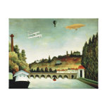 View of the Bridge at Sevres Canvas Print