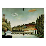 View of the Bridge at Sevres Greeting Card
