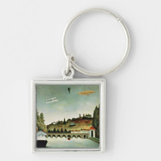 View of the Bridge at Sevres Key Chain