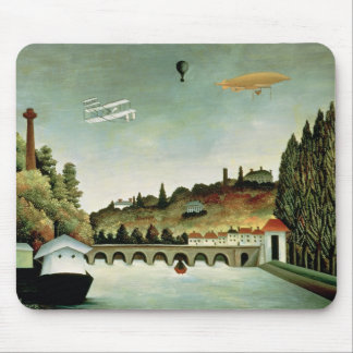 View of the Bridge at Sevres Mouse Pad