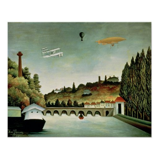 View of the Bridge at Sevres Poster