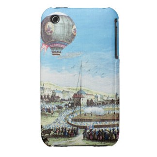 View of the Brolteaux in Lyon and the third flight iPhone 3 Case