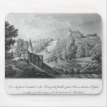 View of the Cacault bridge and village of Mousepads