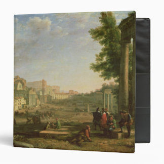 View of the Campo Vaccino, Rome, 1636 Binder