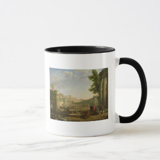 View of the Campo Vaccino, Rome, 1636 Mug